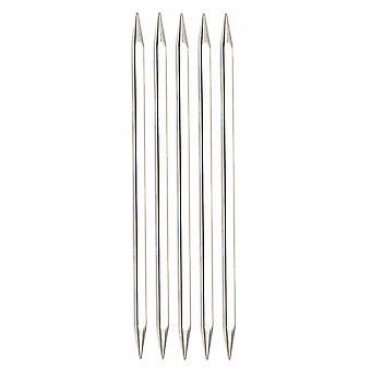 KnitPro Нова Кабины: Вязание Пины: Двойной конец: Набор из пяти: 15см х 5,00 мм