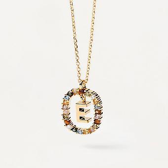Halsband Kvinna P D Paola CO01-264-U - Plaqu guld Dor