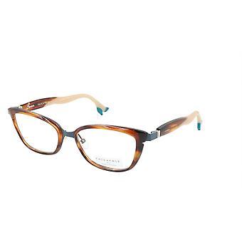 Face A Face Eyeglasses Frame BOCCA STAR 1 Col. 9470 Acetate Blue Grey Brown Horn
