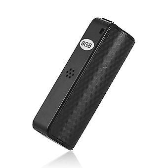 Mini WAV Audio Recorder Pen 8 GB Stemme Mp3-afspiller