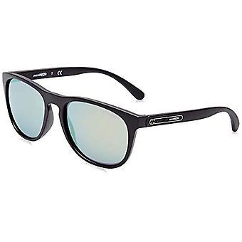 Arnette 01/8N Sunglasses, Black (Matte Black), 56 Men's
