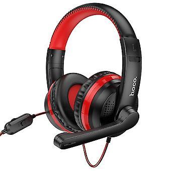 Gaming Headset Studio DJ Hoofdtelefoon Stereo Over Ear Bedrade Hoofdtelefoon Met Microfoon