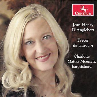 D'Anglebert / Charlotte Mattax Moersch - Pieces De Clavecin [CD] USA import