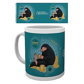 Fantastic Beasts 2 - Niffler Coin Mug