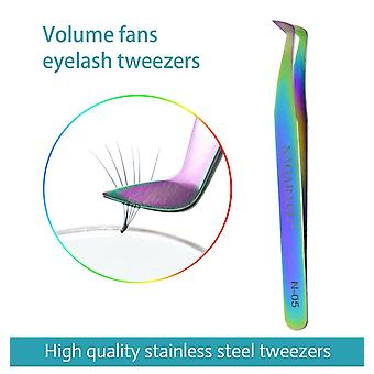 Stainless Non Magnetic Eyelash Extension Tweezers  3D Lash Tweezer|Eyelash Tweezers