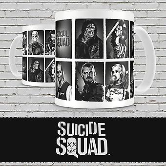 Suicide Squad Characters Mug