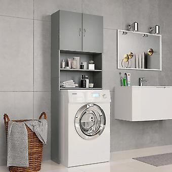 Waschmaschinenschrank 64X25,5X190 Cm Spanplattengrau