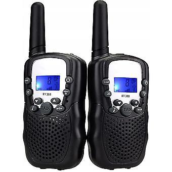 Black kids walkie-talkies dt9963