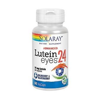 Solaray Lutein Eyes Advanced, 24 mg, 60 Capsules Végétal
