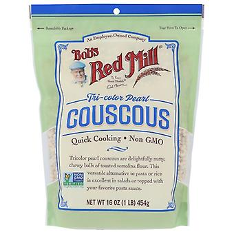 Bobs Red Mill Couscous Peral Tricolor, Fall av 4 X 16 Oz