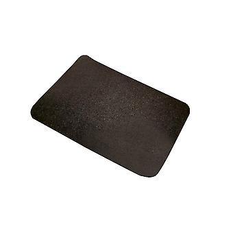 Black 65x36 pure color rectangular glue-free self-adhesive non-slip stair mat homi4095