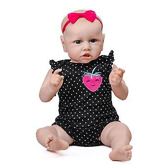55Cm نابض بالحياة saskia تولد من جديد دمية طفل دمية حديث الولادة شعبية لينة لمسة محبوب طفل دمية الفن تحصيلها
