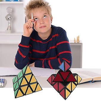 Piramida Trójkąt Prędkość Magia Puzzle Toy Block Gra Wywiad Komunikacja