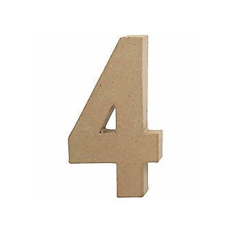 20.5cm Papel Grande Mache Número 4 Formas de Mache de Papel (Paper Mache Shapes) Papier Mache