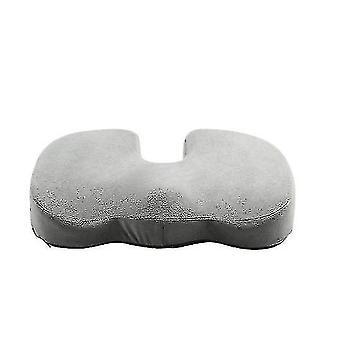 Seat Cushion Memory Foam Coccyx Cushion Designed For Car Seat, Wheelchair(GRAY)