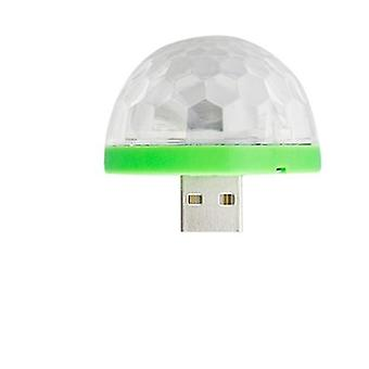 6w 9w Rotierende Kristall Magic Ball Rgb Led Bühne Glühbirne E27 Lampe für Disco