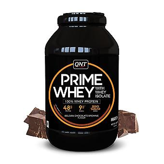 QNT Prime Whey Protein Powder 100% Whey Isolate - 908g - Belgian Chocolate