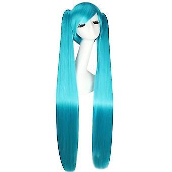 Anime wigs hatsune miku long synthetic hair halloween gift wig