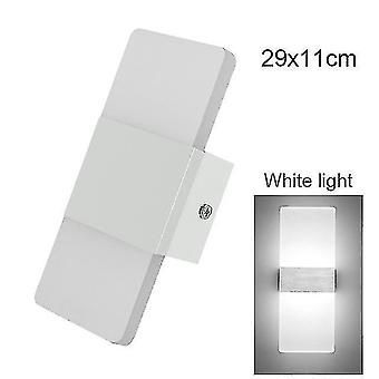 Led light bulbs led wall light-up down cube indoor outdoor sconce lighting lamp fixture decor hr 5