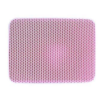 Mimigo Cat Litter Mat, Kitty Litter Trapping Mat, Honeycomb Double Layer Mats, No Phthalate, Urine Waterproof, Easy Clean, Scatter Control, Catcher Li
