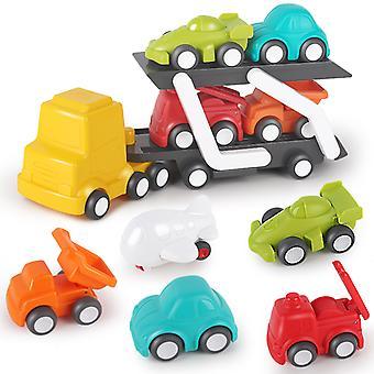 子供用車輸送トラック、おもちゃセット、輸送トレーラー、車両