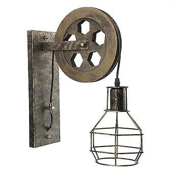 Lampe murale industrielle vintage rétro de levage de levage