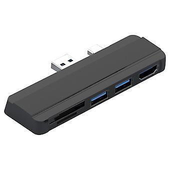 Usb Hub 3.0 Docking Station Til Surface Pro 4/5/6 Til Usb 3.0 Port Hdmi-kompatibel Tf Reader Splitter Adapter