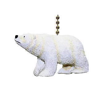 Arctic Polar Bear Ursus Carnivore Fan Light Pull Chain
