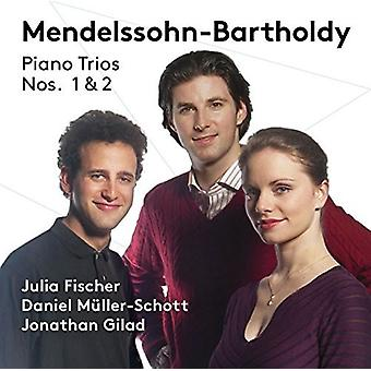 Bartholdy / Fischer / Gilad - Piano Trios Nos. 1 & 2 [SACD] USA import