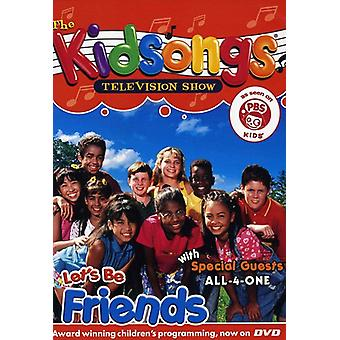 Kidsongs - Let's Be Friends [DVD] USA import