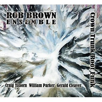 Rob Brown Ensemble - Crown Trunk Root Funk [CD] USA import