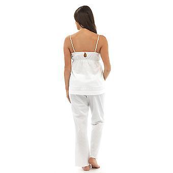 طباعة السيدات وولف & هارت قميص القطن & بنطلون ملابس النوم