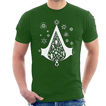 Christmas Tree Assassins Creed Men's T-Shirt