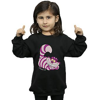 Disney Girls Alice In Wonderland Cheshire Cat Sweatshirt