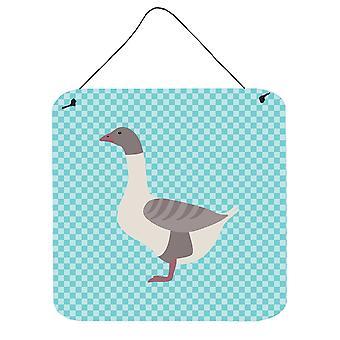 Goose dos gris chamois bleu cocher mur ou porte suspendue imprime