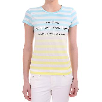 Paul Smith Striped Printed Ss T Shirt