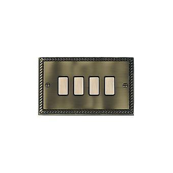 ハミルトン Litestat ・ チェリトン グルジア アンティーク真鍮 4 g 250 w M 方法タッチ マスト AB/BL