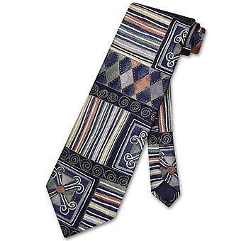Enrico Rossini SILK NeckTie Made in ITALY Pattern Design Men's Neck Tie #3096-1