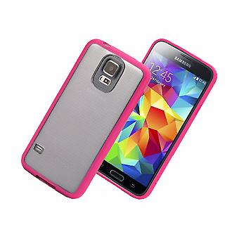 Griffin Reveal custodia per Samsung Galaxy S5 (rosa/chiaro)