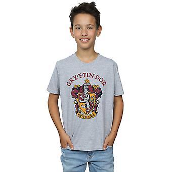 Harry Potter pojkar Gryffindor krön T-Shirt