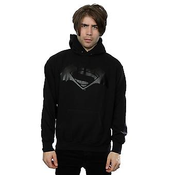 DC Comics Men's Batman v Superman Logo Print Hoodie