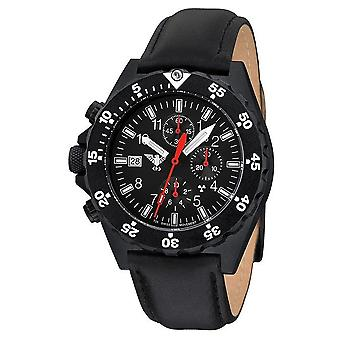 KHS horloges heren horloge schutter chronograaf KHS. SHC. L