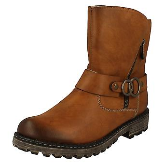 Ladies Rieker Warmlined Utility Boots Y6767