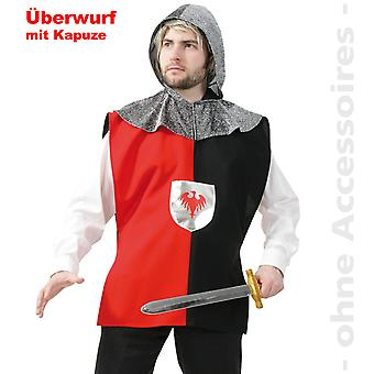 Ridder heer kostuum Crusader Knights shirt heren kostuum ridder kostuum