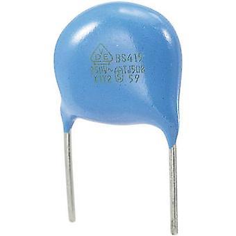 Disco in ceramica condensatore cavo radiale 680 pF 250 V AC 10% 1/PC