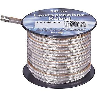 AIV 23557L Speaker cable 2 x 4.20 mm² Silver 10 m