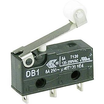 ZF Microswitch DB1C-A1RB 250 V AC 6 A 1 x On/(On) momentary 1 pc(s)