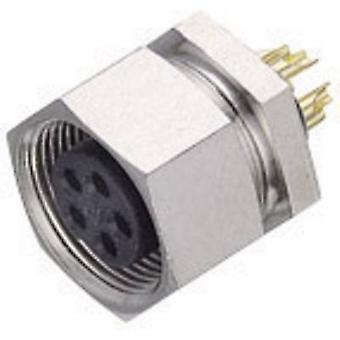 Bağlayıcı 09-0482-00-08-1 Alt mikro Dairesel Konektör Serisi Nominal akım (detaylar): 1 A