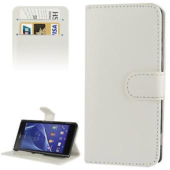 Dekke mobiltelefon tilfelle (flip cross) for mobiltelefon Sony Xperia Z2 / L50w