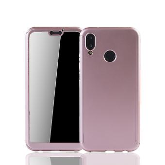 Huawei P20 Lite matkapuhelin kuori suojaa koko kattaa säiliö lasi nousi